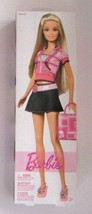 Barbie Doll Pink Shirt Jean Skirt by Mattel, New Toys And Games - $17.82