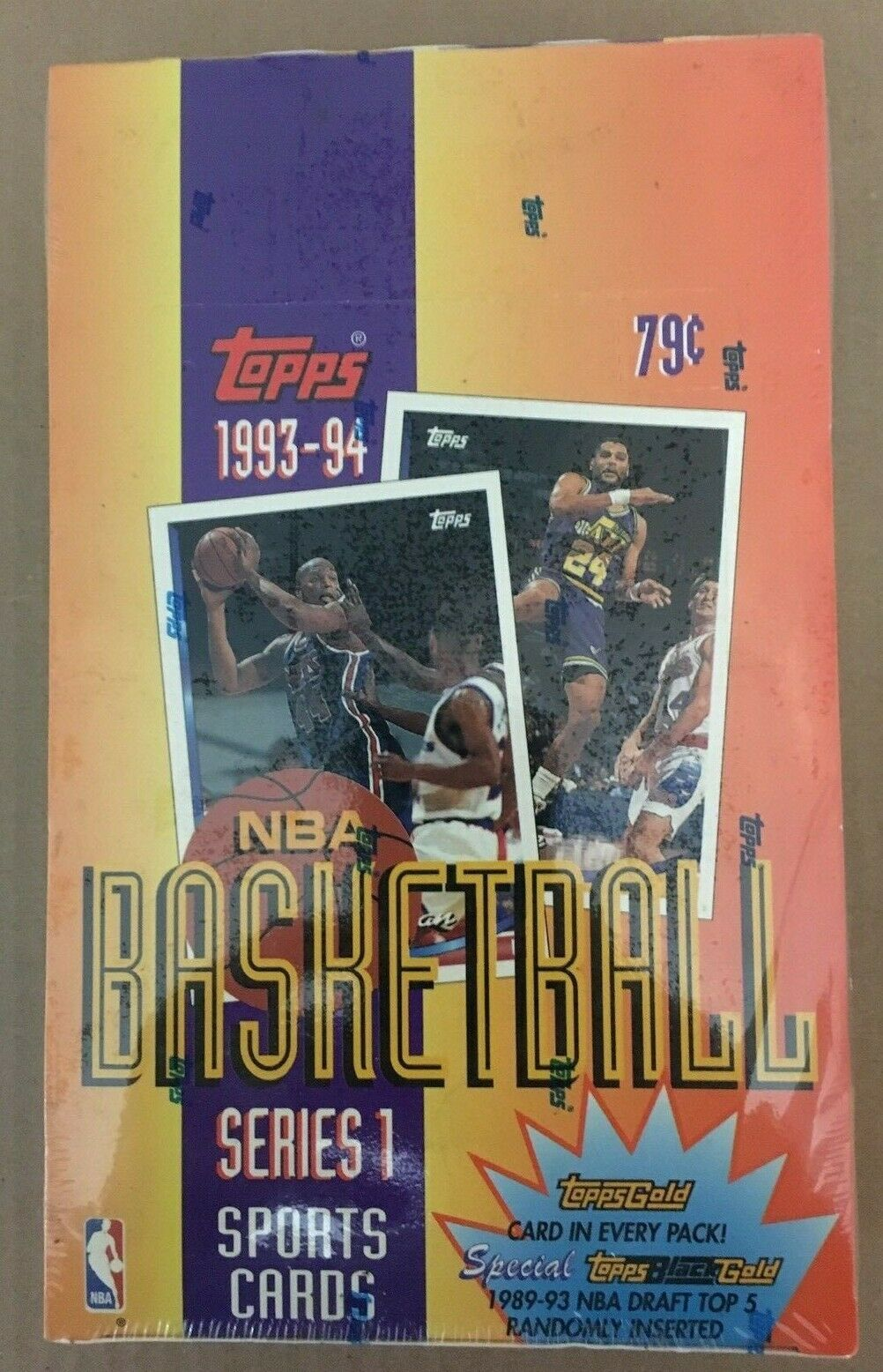 Primary image for 1993-94 Topps Basketball Series 1 Unopened Factory Sealed Box / 36 Packs