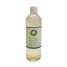 Pure Peanut Oil 3.38oz Arachis Hypogeae Cold Pressed Uncut Natural Unref... - $8.97