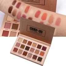 18 Colors Shimmer Eye Shadow Palette Include 6 Brushes Glitter Eye Shado... - $7.99+