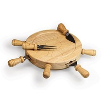 TOSCANA - a Picnic Time Brand Mariner Cheese Board and Tool Set - $33.91