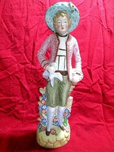 Vintage  Colonial Figurines 1940 -50's  Made In Occupied Japan  - $18.80