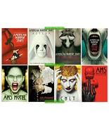 American Horror Story Complete Series Seasons 1 2 3 4 5 6 7 & 8 DVD 1-8 ... - $69.00