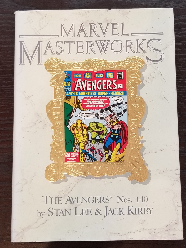 Marvel Masterworks Vol 4 The Avengers 1-10 Hardcover
