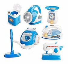 PANDA SUPERSTORE Set of 6 Mini Home Appliance Simulation Model Toys Kids Electro