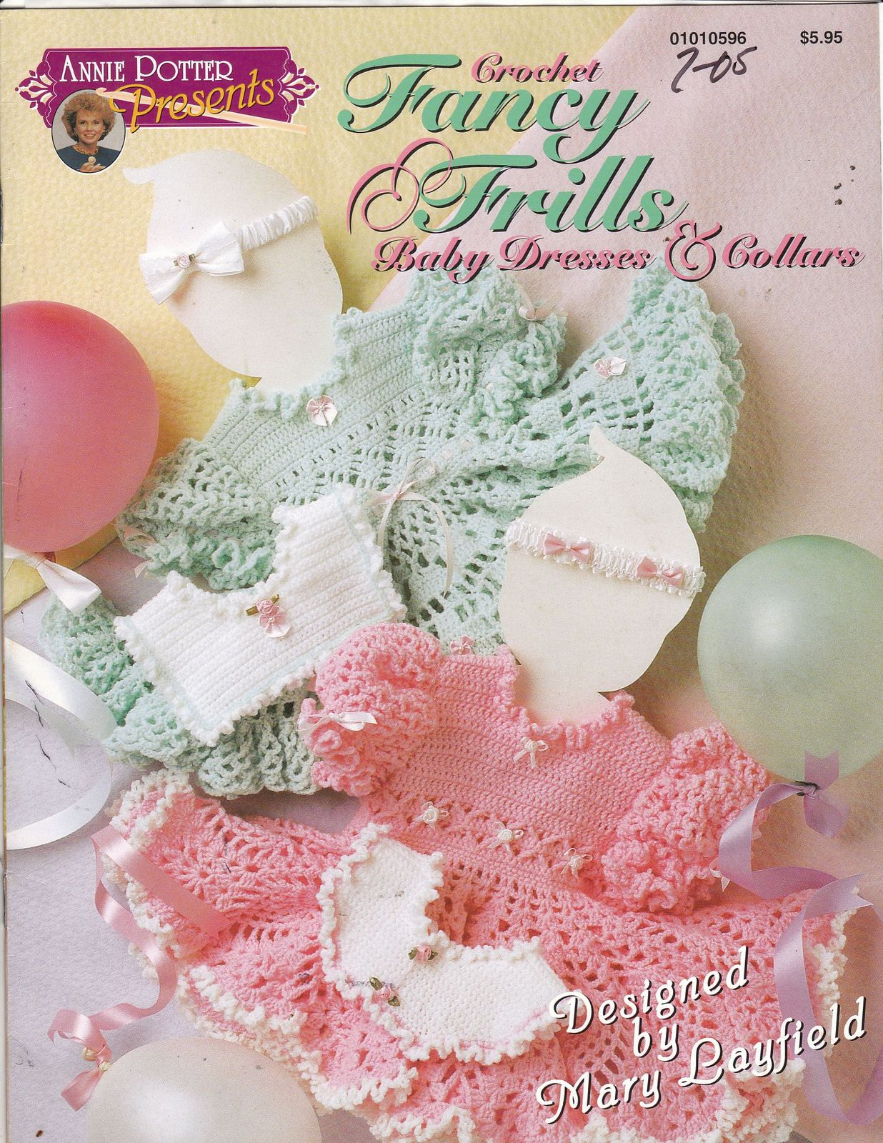 Primary image for Fancy Frills Baby Dresses & Collars Crochet Patterns Five Designs