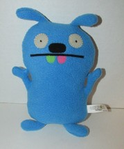 "Tutulu uglydoll plush doll blue 7-8"" stuffed animal pink green teeth - $6.92"