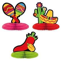 Fiesta Cinco de Mayo Mini Honeycomb Centerpiece Decorations - FREE Shipping - €5,63 EUR