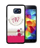 PERSONALIZED CASE FOR SAMSUNG NOTE 9 8 5 4 RUBBER COVER HOT PINK SWIRLS ... - $13.95