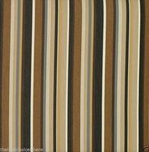 Sunbrella Espresso Stripe 6' Diameter Umbrella Canvas Replacement - New - $24.99