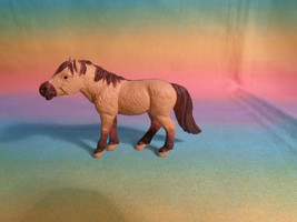 2005 Safari LTD Pony Horse Farm Animal Pet Tan Brown Figure - $3.35