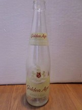 Vintage Golden Age 2 Full Glasses Akron Ohio 12 oz Glass Soda Bottle - $4.46