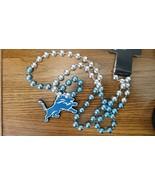 NFL Detroit Lions Mardi Gras Beads with Medallion - $13.71