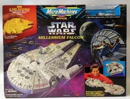 Vintage 1995 Micro Machines Star Wars Millennium Falcon Playset & Figure... - $70.00