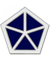 US Army V Corps Combat Service Badge (2 inch) - $14.84