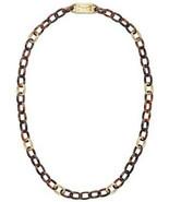 Michael Kors Necklace Tortoise Links NEW $165 - $103.95