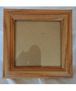 "5"" x 5"" Light Oak Solid Wood Frame w/Glass - $13.86"