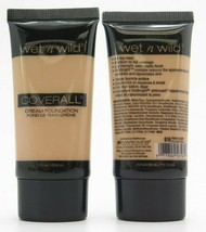 Wet n Wild Coverall Cream Foundation *Choose your shade*Twin Pack* - $14.59