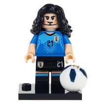 Edinson Cavani  Football Legend Lego Minifigures Block Toy Gift For Kids - $1.99