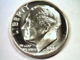 1967 ROOSEVELT DIME SPECIAL MINT SET SMS SUPERB UNCIRCULATED+ SUPERB UNC... - $35.00