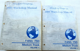 2001 Ford F650 F750 Truck Workshop Repair Service Shop Manual Factory OE... - $5.73
