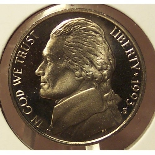 Primary image for 1993-S DCAM Proof Jefferson Nickel #0726