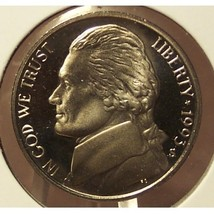 1993-S DCAM Proof Jefferson Nickel #0726 - $3.19
