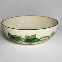 "Franciscan Ivy Leaf Serving Bowl 7"" Round Vegetable Round Mark Californi... - $19.75"