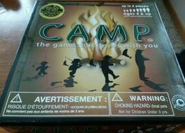 Camp Game Education Outdoors 2009 Family Board Game up to 8 Players  - $8.91