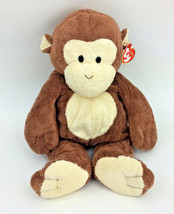 """Ty Pluffies Dangles Large Brown Monkey 2004 14"""" NEW - $57.94"""