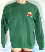 Vintage LEE Made in USA TRADERS L Southern California Cars Sweatshirt Mens Green image 2