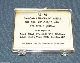PHONOGRAPH RECORD NEEDLE for Dual DN4 DN23 DN34 CDS-3/23 320/23 320/26 302-D7 image 2