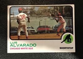 1973 Topps  #627 Luis Alvarado Baseball Card - $1.93