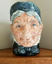 Vintage Royal Doulton GRANNY Large Character Jug Mug D5521 Estate Find - $29.69
