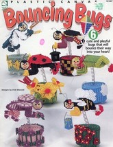 Bouncing Bugs Plastic Canvas PATTERN/INSTRUCTIONS Booklet 6 Designs - $2.67