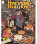 Harvest Holiday Plastic Canvas Pumpkin Squash Scarecrow Turkey Bunny Pe... - $5.93