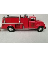 Vintage Tonka No. 5 Pressed Steel Red Toy Fire Truck - $98.99