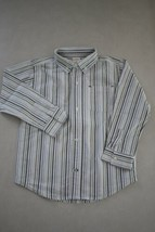 GYMOREE Boy's Long Sleeve Button Front Shirt size 4T - $9.89