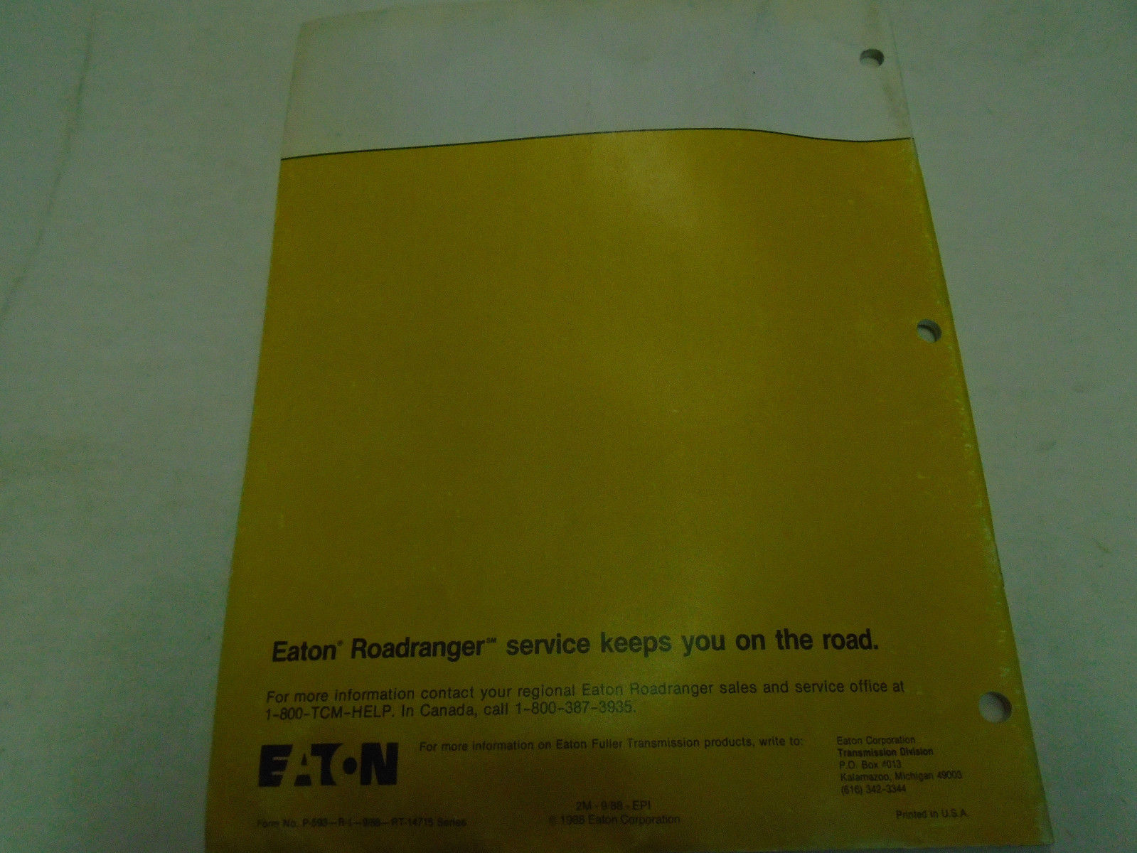 1988 Eaton Fuller RT-14715 Series and similar items