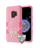 For SAMSUNG Galaxy S9 Pearl Pink FullStar TUFF Hybrid Protector Case Cover - $12.38
