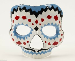 Deluxe Day Of The Dead Adult Male Mask Halloween Costume Masquerade Accessory - $14.79