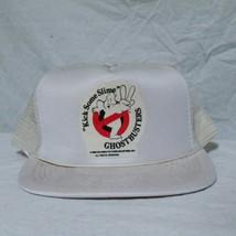 VTG 1988 Ghostbusters Trucker Hat 80s Movie Television Cap Columbia Cinema Comic - $69.99