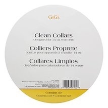 GiGi Clean Collars for 14-Ounce Wax Warmers, 50 Pieces image 2