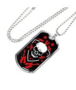 Express Your Love Gifts Rock n Roll Skull Guitar Stainless Steel Silver ... - $49.45