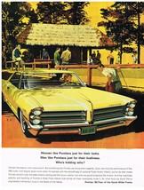 Vintage 1965 Magazine Ad Pontiac Women Like Looks Men Like For Liveliness - $5.93
