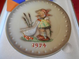 Great Collectible NIB M.J. Humme -Goebel Collector Plate - 1974-FREE POS... - $17.89