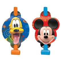 Mickey Partytime Birthday Favor Blowouts Party Supplies NEW - $4.70
