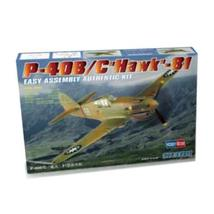 HobbyBoss 1:72 US P-40B/C Hawk 81 Type Fighter Model - $29.05