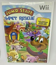 Jump Start: Pet Rescue (Nintendo Wii, 2009) VG~W/ Original Case & Manual... - $9.95