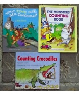 Counting Crocodiles, What Time is It Mr. Crocodile, The Monsters' Counti... - $4.50